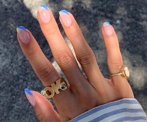 nails, jewelry, and nail art image