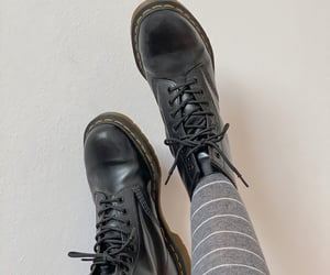 black, boots, and details image