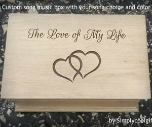 etsy, love of my life, and anniversary gift image