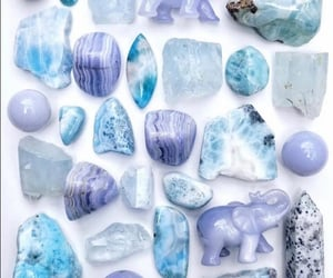 aesthetic, crystal, and indigo image
