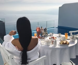 luxury, breakfast, and morning image