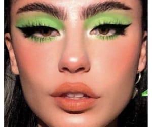 makeup and green image