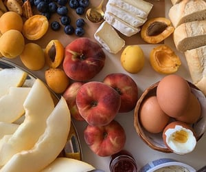 food, eggs, and FRUiTS image