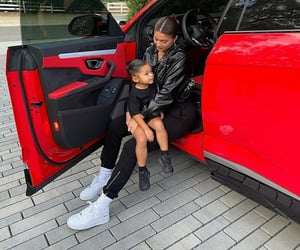 kids, kardashian, and stormi image