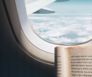 aeroplane, air, and read image