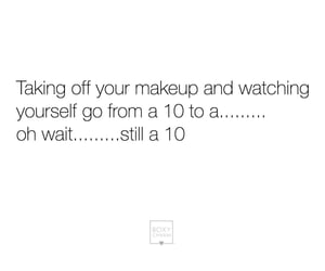 girls, makeup, and quote image
