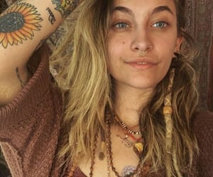 hippie, tattoo, and fashion image