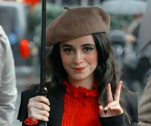 cheeks, umbrella, and makeup image