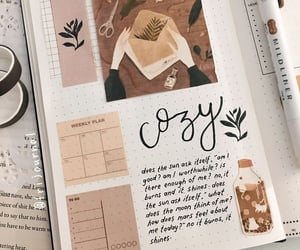 notebook and bullet journal image