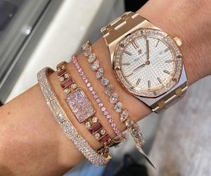 diamonds and watch image