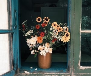 flowers, vintage, and aesthetic image