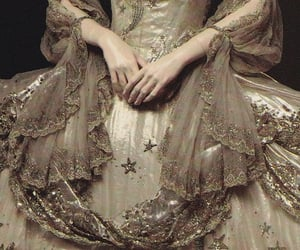 antique, victorian, and dress image