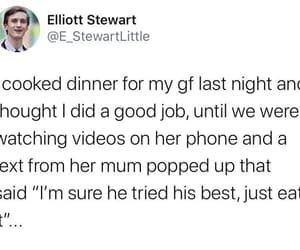 a good boy, just eat it, and lucky girlfriend image