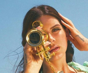️lana del rey and high by the beach image
