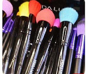 accessories, black, and makeupbrushes image