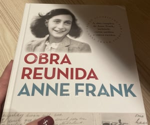 anne frank, books, and leitura image