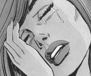 cry, sad, and comic image