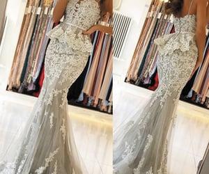 formal dresses, mermaid evening dress, and vestido de festa image