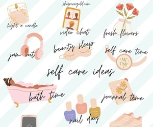 self love tips, self care tips, and self care sunday image