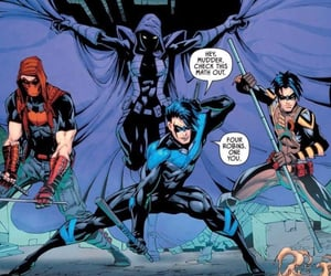 Drake, nightwing, and tim drake image