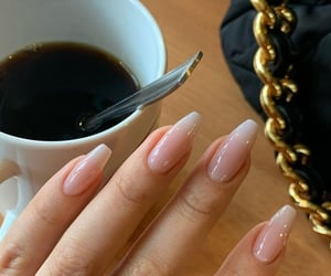 nails, art, and coffee image