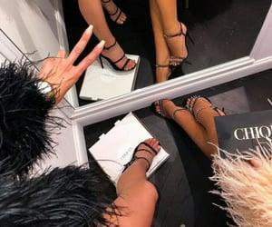 fashion, faux fur, and fur image