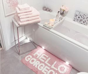 aesthetic, hello, and pink image