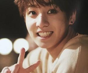 kpop, jeon jungkook, and smile image