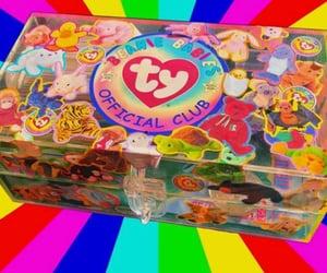 90s, neon, and rainbow image