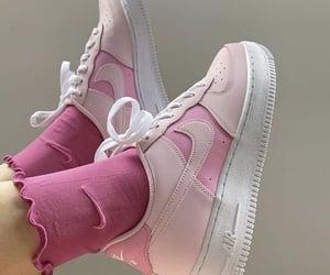 nike, pink, and fashion image