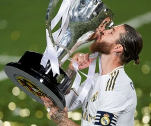 real madrid, sergio ramos, and capitan image