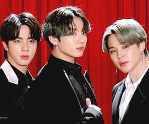 bts, seokjin, and yoongi image
