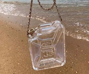 bag, beach, and chanel image