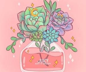 flower, pastel, and illustration image
