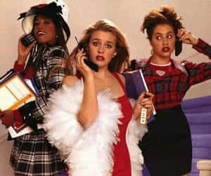 90s, Clueless, and gossip girl image