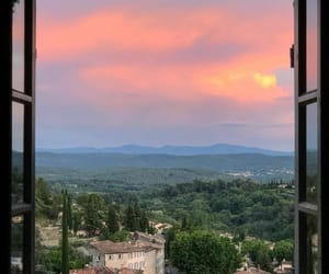 france, provence, and sunset image