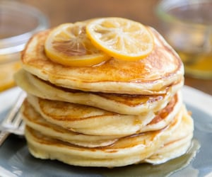 food, pancakes, and ideas image