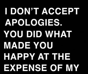 apology, break up, and breakup image