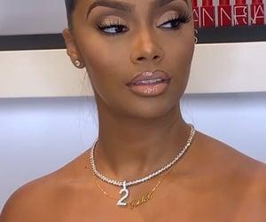 african american, black women, and brown eyes image