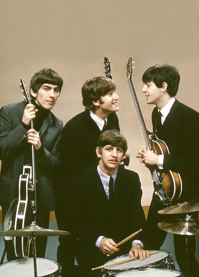a hard days night, Paul McCartney, and ringo starr image