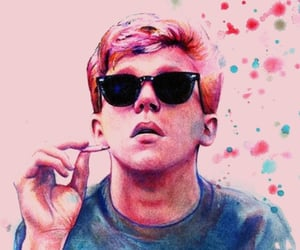 brian johnson, Anthony Michael Hall, and The Breakfast Club image
