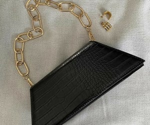 bag, accessories, and black image