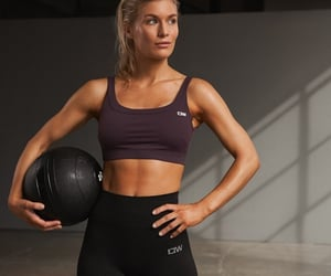 abs, body, and bra image