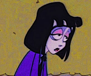 cartoon, grunge, and sad image