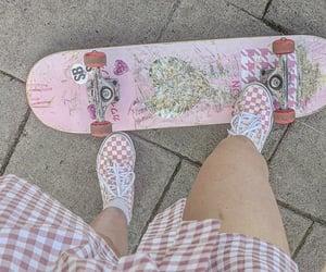 skateboard, ulzzang, and cyber girl image
