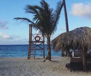 beach, holiday, and Sunny image