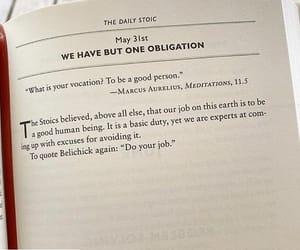 marcus aurelius, be a good person, and do your job image
