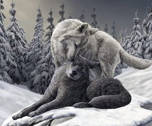 english, article, and werewolf image