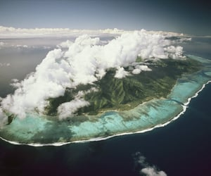 Island, ocean, and nature image