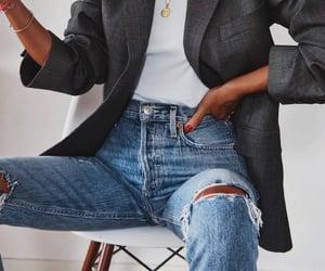 belt, blouse, and elegant image
